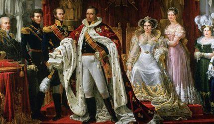 Inhuldiging Willem IHet Huis Oranje-Nassau komt voort uit het Huis Nassau uit Duitsland. Het Huis Oranje-Nassau ontstond in 1544. Willem I, graaf van Nassau-Dillenburg (1533-1584), ook wel bekend als Willem van Oranje of Willem de Zwijger, erfde toen het vorstendom Orange in Zuid-Frankrijk van zijn neef René van Chalon. Daar hoorde ook de titel Prins van Oranje bij. In de 18e eeuw stierf de tak van Willem van Oranje echter uit, doordat stadhouder Willem III kinderloos stierf. De nazaten van…
