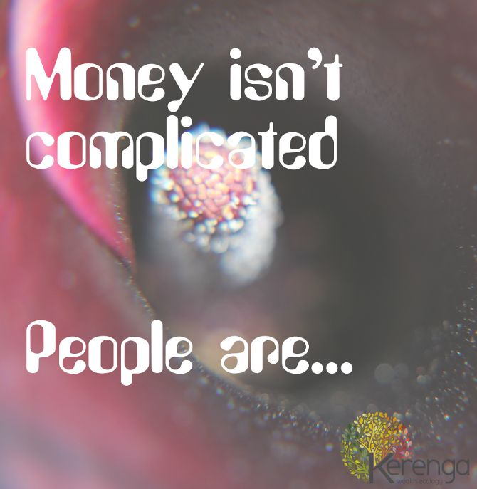 Money and People