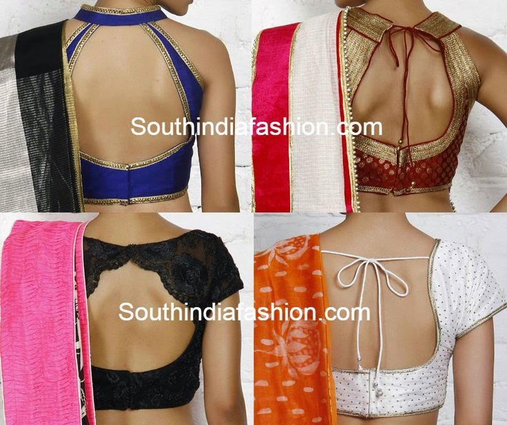Best 20  Latest blouse neck designs ideas on Pinterest | Blouse ...