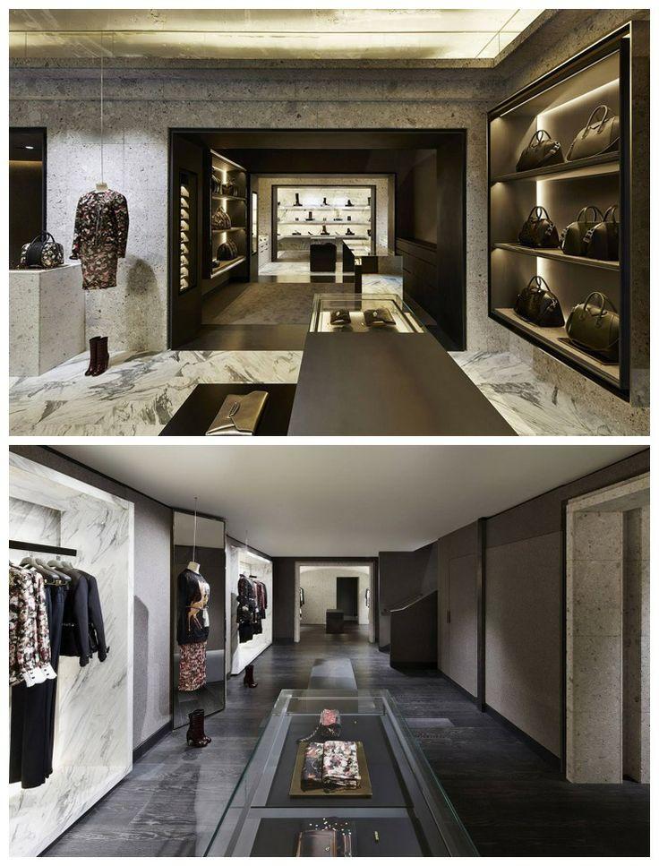 GIVENCHY Store Interior Design Avenue Montaigne In Paris