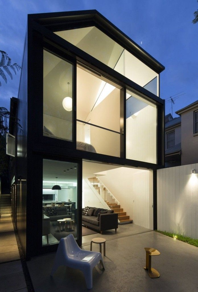 architecture design Cosgriff House 696x1024 Carefully Crafted Home Extension in Sydney by Architect Christopher Polly