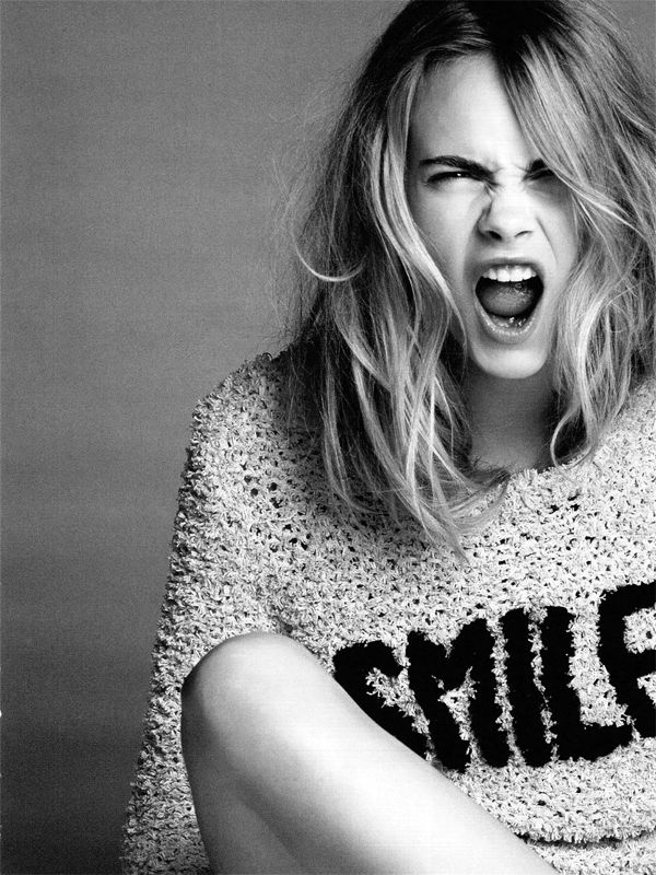 Then Dont Smile, Cara (Top Rules), From Vogue
