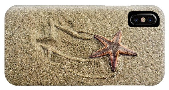 Starfish On The Beach IPhone X Case for Sale by Debra Martz.  Protect your iPhone X with an impact-resistant, slim-profile, hard-shell case.  The image is printed directly onto the case and wrapped around the edges for a beautiful presentation.  Simply snap the case onto your iPhone X for instant protection and direct access to all of the phone's features! #starfish #coastal #beach