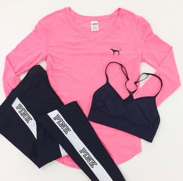 VS Pink had such cute clothes
