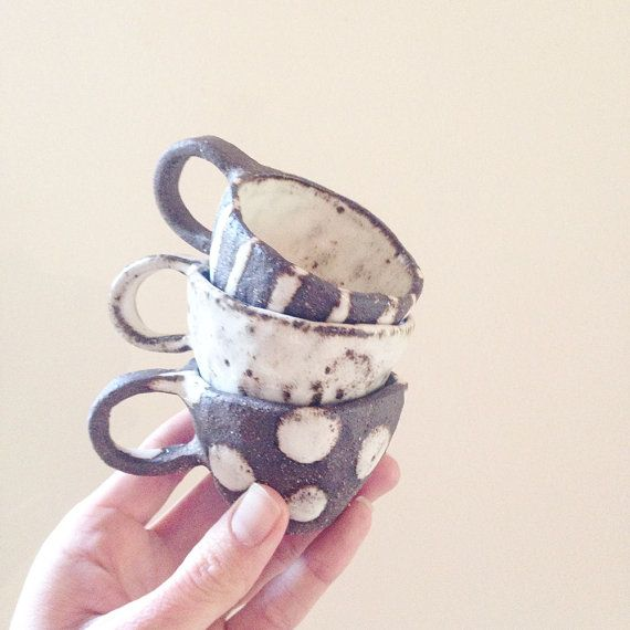 Babychino Cups/ Espresso Cup/ Toddler Mug/ By MakersGENERALstore
