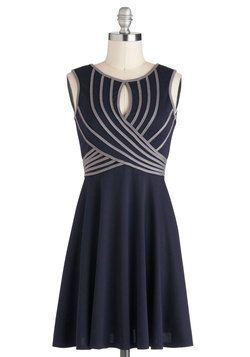 Swoops and Dreams Dress, #ModCloth