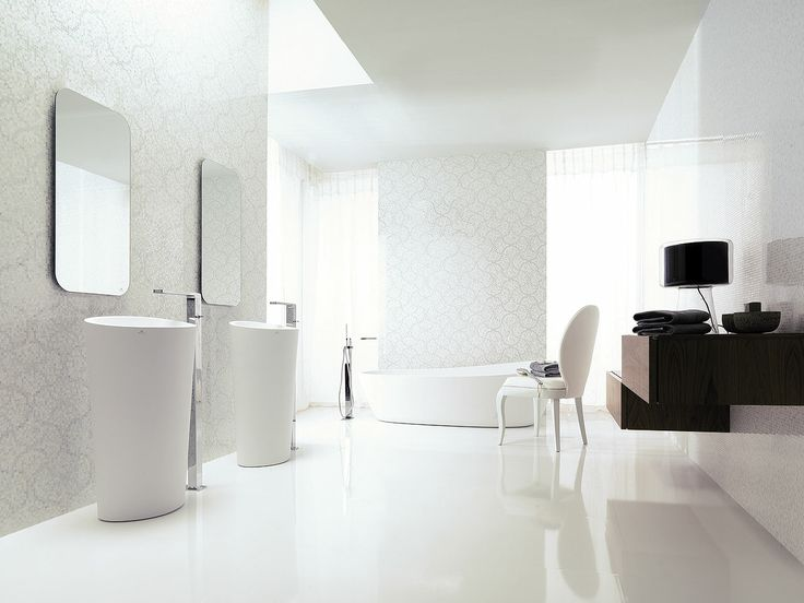 Crystal Floor White 59 6 X 59 6 Cm Porcelanosa Bianco