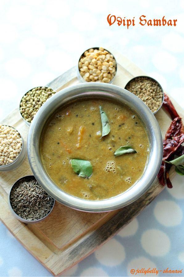 Kitchen Secrets and Snippets: Udipi Sambar