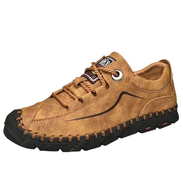 Men Shandstitchingcasuallace Upshoessoftbottom Superdeals Cena 36 99 Ok 140 19 Pln Limit Leather Shoes Men Outdoor Shoes Men Mens Casual Leather Shoes