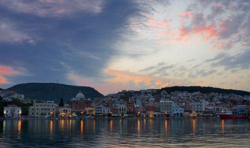 Απριλιατικο λυκοφως, Συρος ~ Αpril twilight, Syros    by Thomas Mavrofides