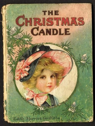 THE CHRISTMAS CANDLE & The WITCH CAT Children's Book - FRANCES BRUNDAGE 1911
