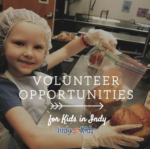 Volunteer Opportunities for Kids | Indy with Kids