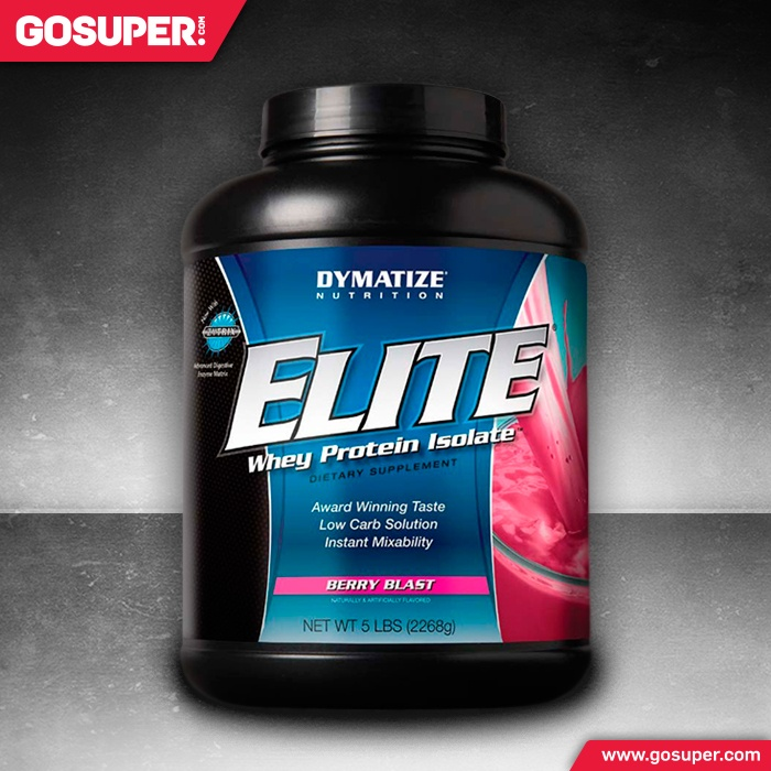 Elite Whey Protein 5 lbs // Everyone knows that Dymatize has a reputation for our great tasting, high quality protein. The time has finally come for Dymatize to produce a high quality whey protein in a 5 pound size for incredible value. The Elite 5 pounder is the perfect blend of whey protein concentrates, ion-exchange whey protein isolates, and whey peptides. Elite has no added sugar, fructose, salt, or carbohydrates. #sports #supplements #nutrition #fitness #muscle #protein #dymatize