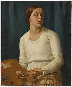 Nora HEYSEN, Self-portrait
