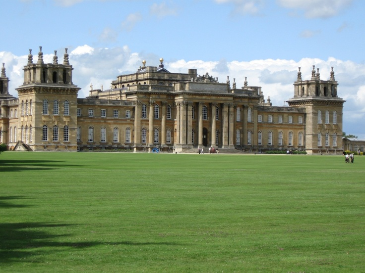 blenheim palace facade favorite places spaces. Black Bedroom Furniture Sets. Home Design Ideas