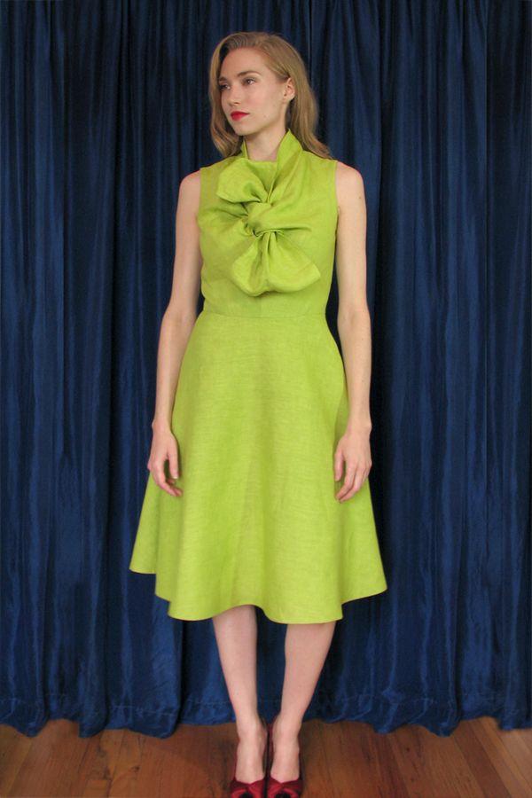 Pattern Magic bow dress