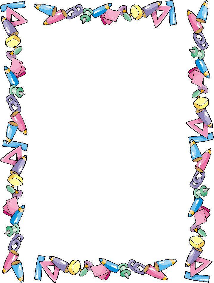 Las 25 mejores ideas sobre marcos para caratulas en - Cenefas de papel infantiles ...