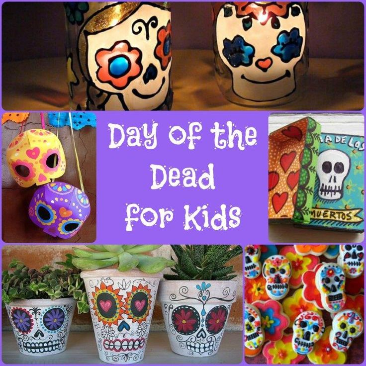 @Chrissy Copley -- the link is broken but I thought of you and you might be able to find the crafts by searching   Lots of Day of the Dead Craft Ideas