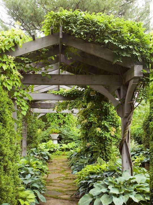 Traditional Garden Pergolas