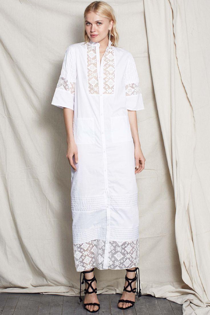 Stevie May - Bahamas Maxi Shirt Dress
