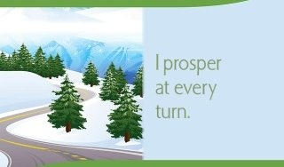 I prosper at every turn.~ Louise L. HayProsperity Boards, Affirmations Boxes, Mikki Affirmations, Affirmations 120
