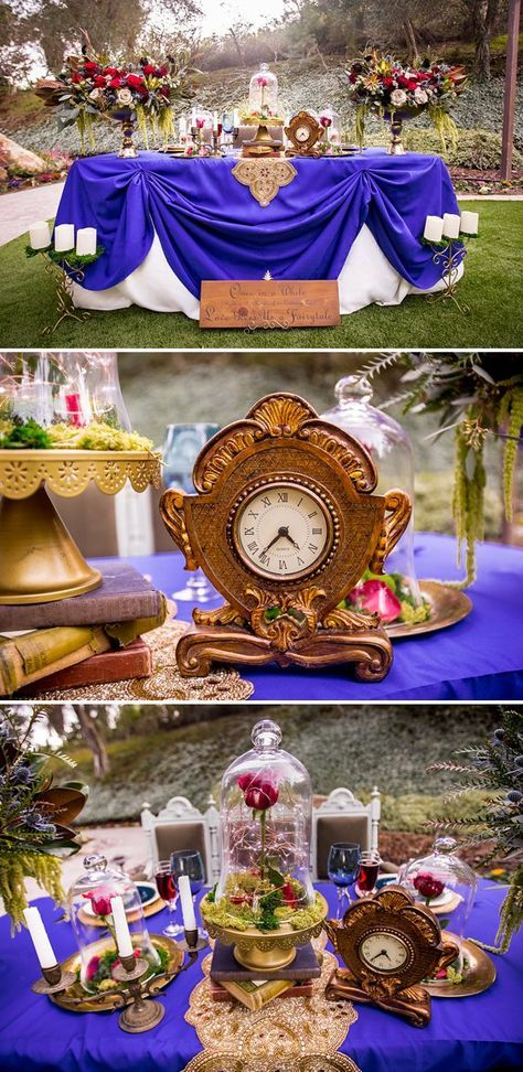 BEAUTY AND THE BEAST Wedding Inspiration - Disney Fairytale Weddings | A Princess Inspired Blog