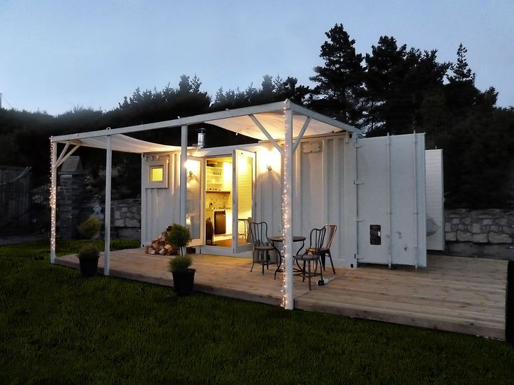 Ready made portable shipping container converted into a mobile home they can come - Mobile home container ...