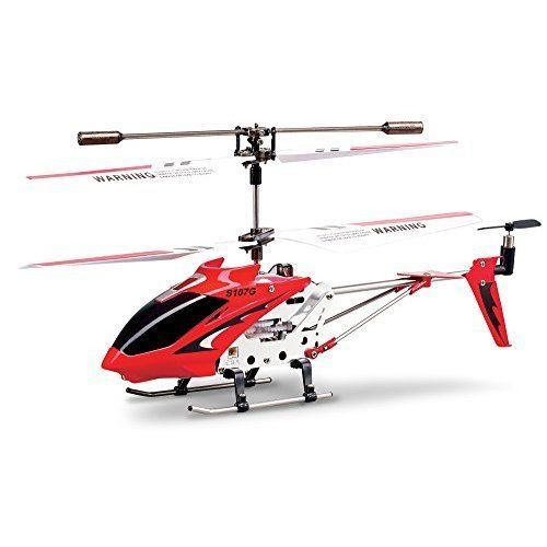 RC Helicopter w/ Gyro 3 Channel Easy Fly Great for Beginners Kids Toy Red NEW #RCHelicopter