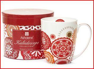 Ashdene red mug
