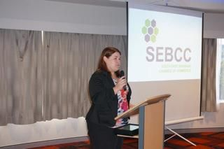 Laurena Reissman Business Manager of AB Accountancy and SEBCC Vice-President, hosted the May B@S in the absence of SEBCC President Penny Cutting.  Great job Laurena you created a great atmosphere, thank you.