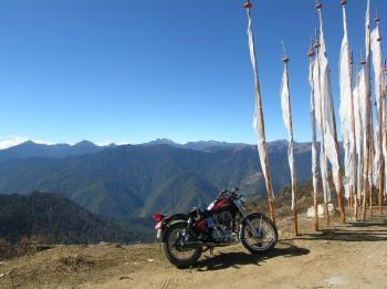 Bhutan motorcycle tour with Jack.
