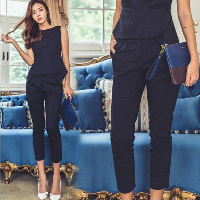 17 meilleures id es propos de tailleur femme pas cher sur pinterest toboggan pas cher. Black Bedroom Furniture Sets. Home Design Ideas
