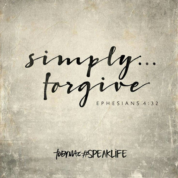 how to forgive and forget bible