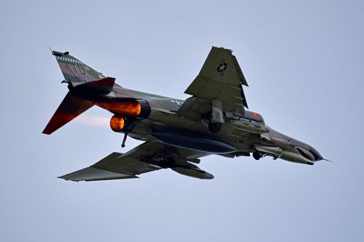 Aviation Blogs — One of the final public appearances of the QF-4...