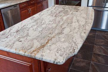 White Granite Countertops   White Granite - modern - kitchen countertops - dc metro - by Granite ...