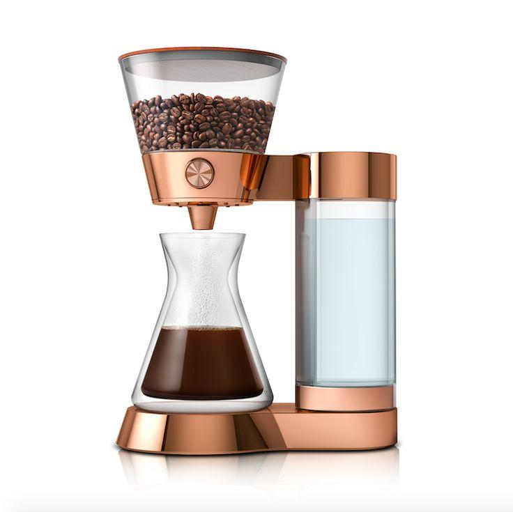 Poppy Pour-Over, a smart artisanal coffee maker. www.poppyhome.com