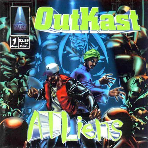 Outkast, ATLiens (1996) - The 50 Best Hip-Hop Album Covers | Complex UK