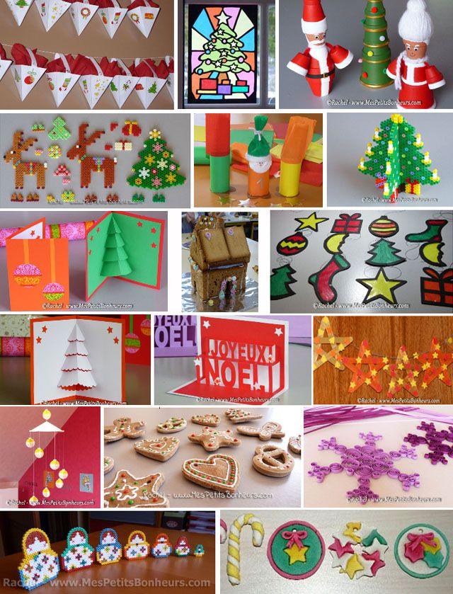 ateliers pour les enfants bricolages noel pour les enfants pinterest atelier no l et. Black Bedroom Furniture Sets. Home Design Ideas