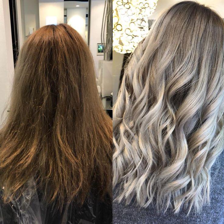 Balayage Olaplex Vorher Nachher Waves Blond