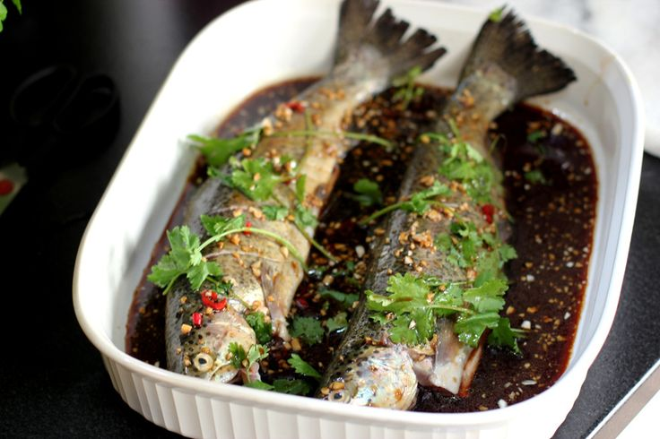 Spicy Asian Rainbow Trout - #Food #Recipe