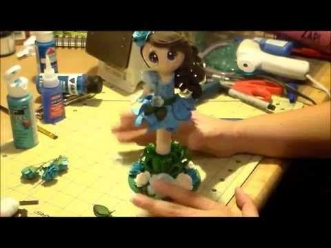 Fairy Fofucha Pen Doll Tutorial 3 of 3 - YouTube
