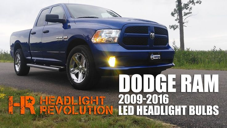 Latest Dodge RAM – LED Headlight Bulb Upgrade Kit for 2009-2016 Dodge Ram with Reflector Headlights – 51656 Yorktown IA June 2018.   LED Headlight Bulb Upgrade Kit here: We went through every LED Headlight bulb we could get our hands on to find you the best and brightest LED bulb...