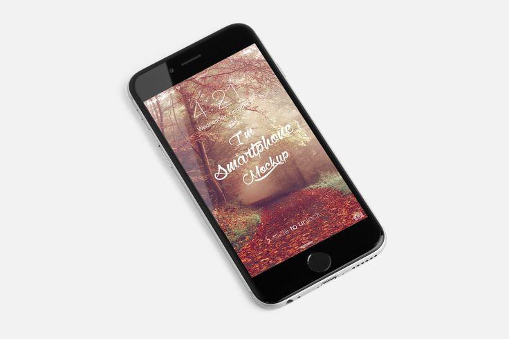 iPhone 6S PSD Mockup 02 by Original Mockups on @originalmockups
