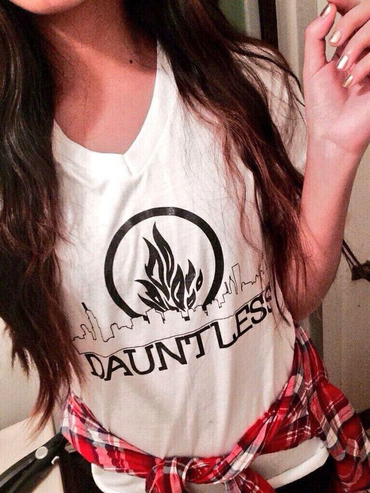 Dauntless shirt. I'd wear that with colored jeans and riding boots for sure.