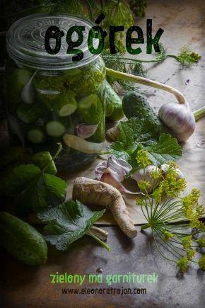 Ogórki małosolne/ Cucumbers in brine/Eleonora Trojan