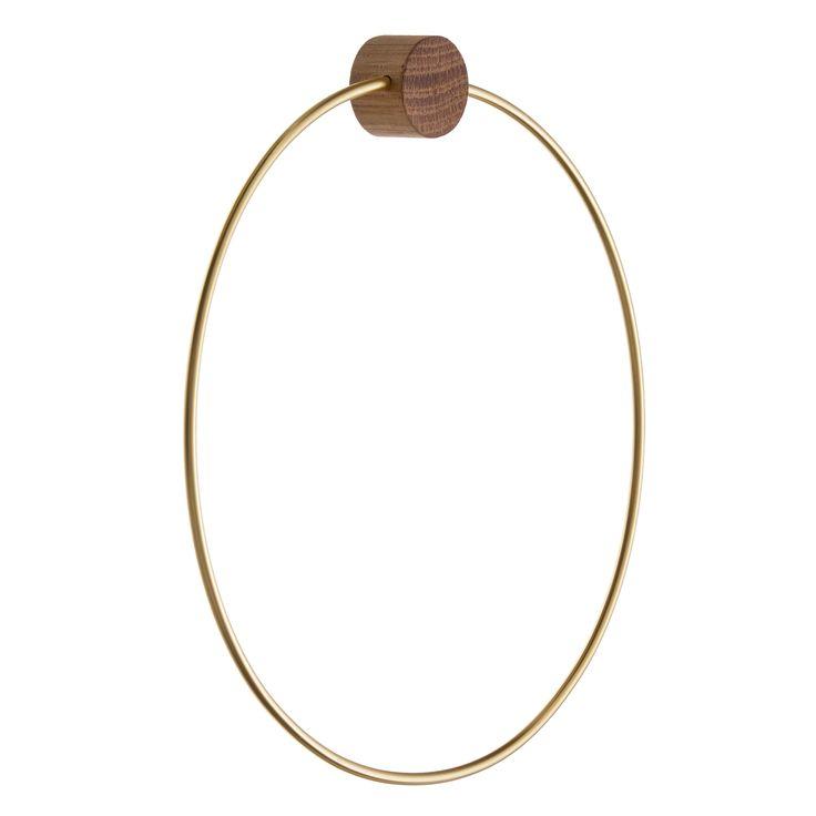 Brass henger, circle – Ferm Living – Kjøp møbler online på ROOM21.no