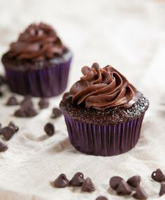 classic chocolate frosting - without powdered sugar! From Baked-In