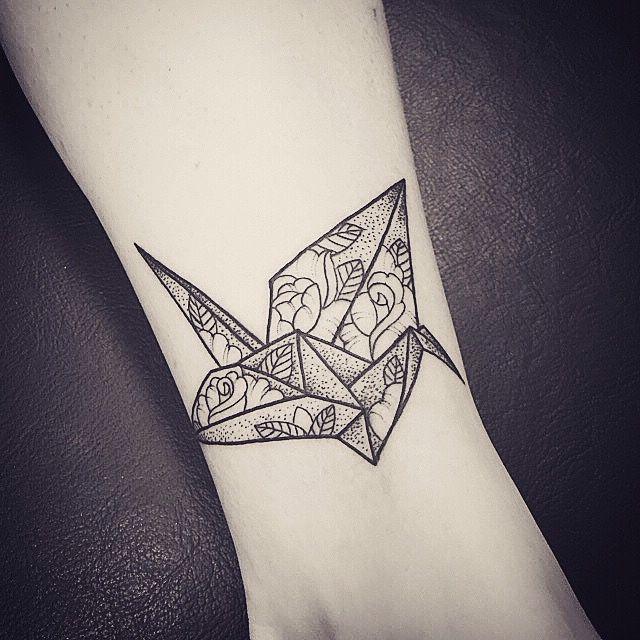 Tattoo Designs In Paper: 25+ Best Ideas About Crane Tattoo On Pinterest