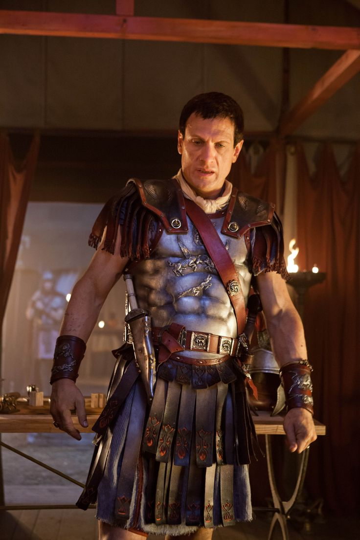 Marcus Licinius Crassus - Simon Merrells in Spartacus, set between c. 73 BCE and 71 BCE (TV series 2010-2013).