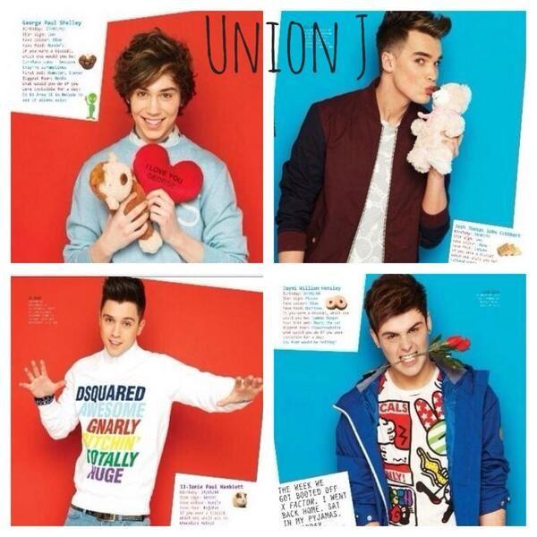 Union J - OMG LOVE THEM <3